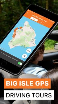Poster Big Island Hawaii GPS Driving Tours