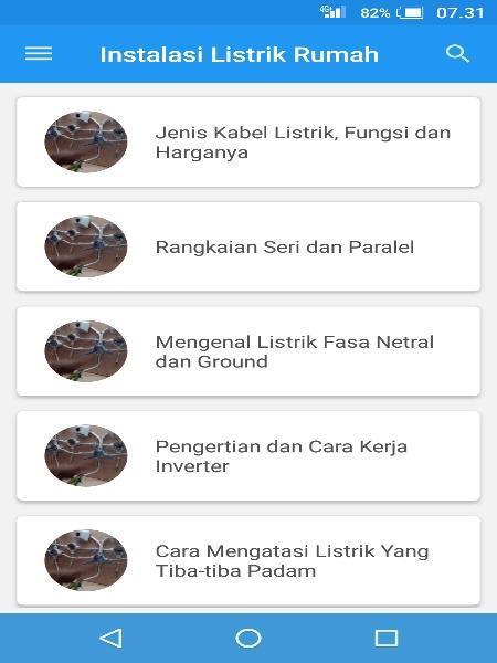 Belajar Instalasi Listrik Rumah Terlengkap for Android - APK ... on