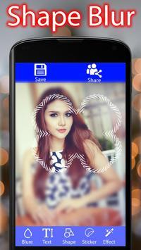 Shape Blur - dslr blur pip effect - photo blur screenshot 4