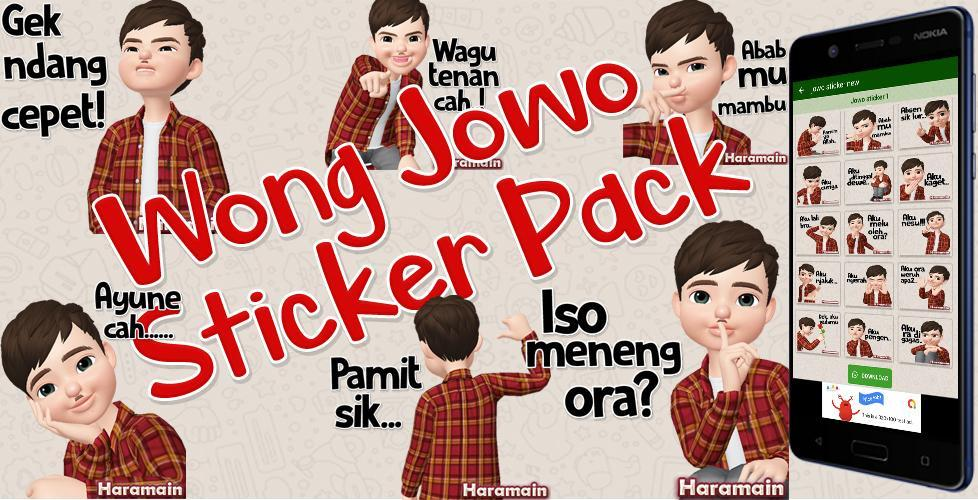 Jawa Sticker Wa Sticker Apps Jowo Lucu Sticker For Android