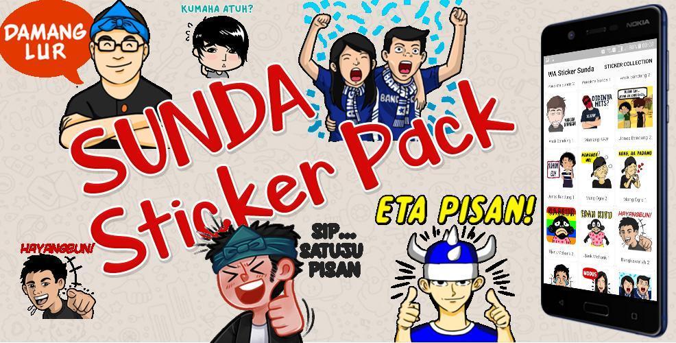 Sunda Sticker Wa Sticker Apps Sunda Lucu Sticker安卓下载