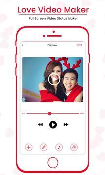 Love Video Maker : Full Screen Video Status Maker screenshot 8