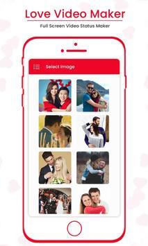 Love Video Maker : Full Screen Video Status Maker screenshot 1
