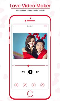 Love Video Maker : Full Screen Video Status Maker screenshot 3