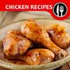 Recettes poulet. Livre recettes de cuisine faciles icône
