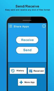 Share App & Wifi File Transfer screenshot 1
