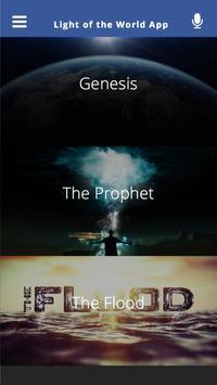 Light of the World App poster