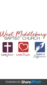 West Middlebury Baptist Church poster
