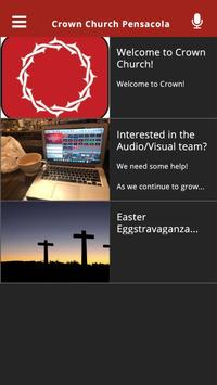 Crown Church Pensacola screenshot 1