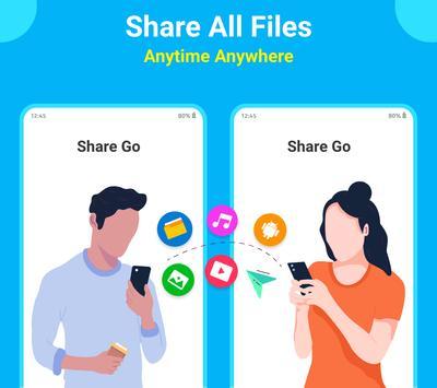 SHARE Go : Share Apps, File Transfer, Share постер