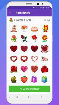 💚 WeLove : love stickers (WAStickerApps) screenshot 6