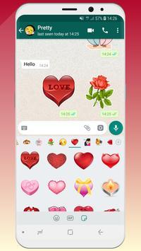 💚 WeLove : love stickers (WAStickerApps) screenshot 3