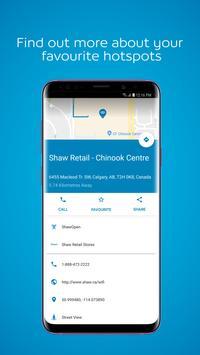 Shaw Go WiFi Finder screenshot 1