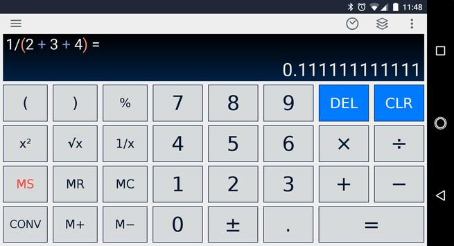 Scientific Calculator Ekran Görüntüsü 7