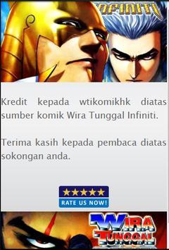 Komik Wira Tunggal Infiniti poster