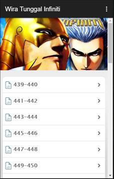 Komik Wira Tunggal Infiniti screenshot 2