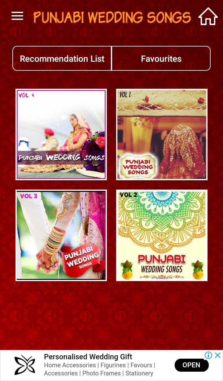 Punjabi Wedding Songs for Android - APK Download