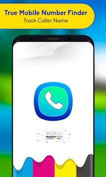 True Mobile Number Finder - Track Caller Name poster