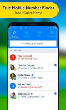 True Mobile Number Finder - Track Caller Name screenshot 11