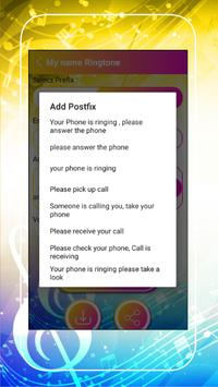 My Name Ringtone Maker screenshot 5