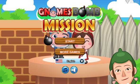 Gnomes Bomb Mission poster