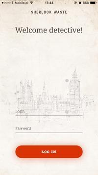 Sherlock Waste poster