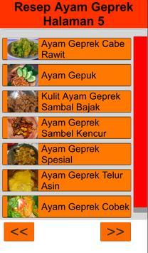 Resep Ayam Geprek screenshot 14