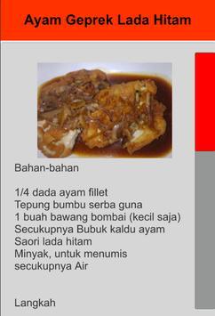 Resep Ayam Geprek screenshot 4