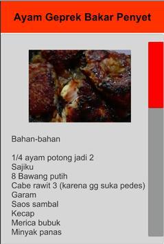 Resep Ayam Geprek screenshot 5
