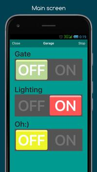 RemoteXY: Arduino control syot layar 4