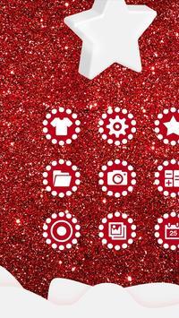 Shiny Red Diamond Love Theme poster