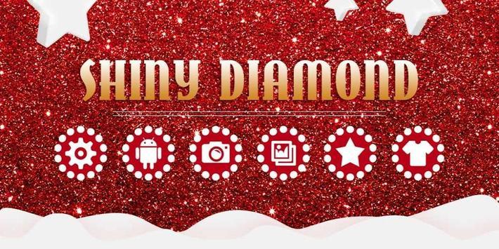 Shiny Red Diamond Love Theme screenshot 3
