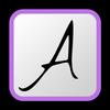 PicSay Pro Font Pack - A ikona