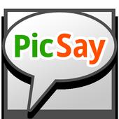 PicSay - Photo Editor أيقونة