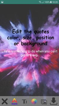 Art Quote Wallpapers poster