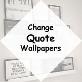 Change Quote Wallpapers icon