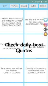 Dale Carnegie Quotes & Statuses & Creator screenshot 6