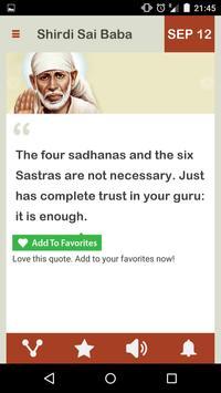 Shirdi Sai Baba Daily screenshot 7