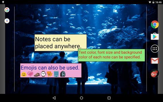 Sticky Notes LWP screenshot 5