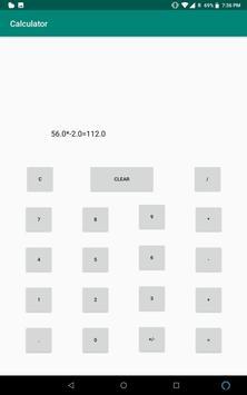 Basic Calculator screenshot 4