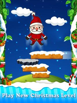Christmas Santa Claus Jump : The Adventure Game poster