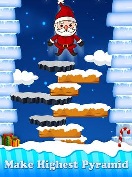 Christmas Santa Claus Jump : The Adventure Game screenshot 1