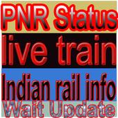 pnr status live train status & indian rail info icon