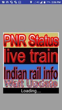 pnr status live train status & indian rail info poster