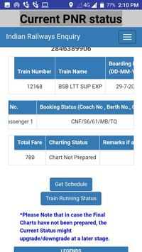 pnr status live train status & indian rail info screenshot 2