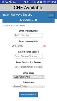 pnr status live train status & indian rail info screenshot 3