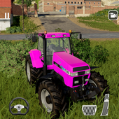 Heavy Tractor Farmer Sim - Cargo Truck Transport icon