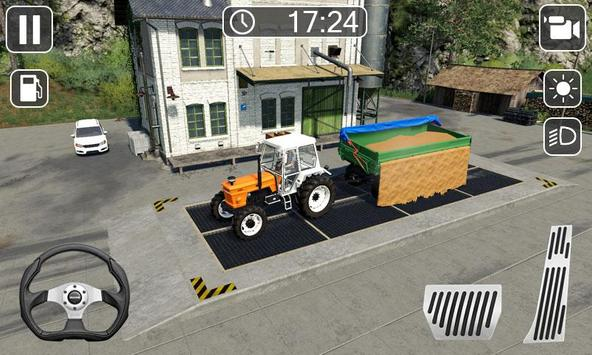 Heavy Tractor Farmer Sim - Cargo Truck Transport screenshot 1