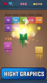 Shoot Merge 2048 - Block Puzzle screenshot 1