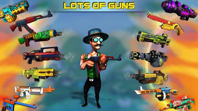 Mini Shooters: Battleground Shooting Game screenshot 1
